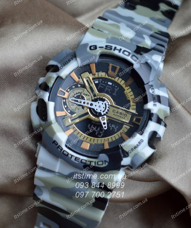 how to change time on g shock ga 100