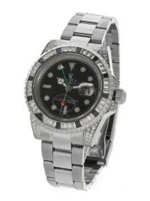 "Rolex ""GMT-Master II Steel black diamond"" купить по низкой цене"