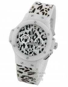 Hublot №173 Big Bang Snow Leopard chronographer купить по низкой цене