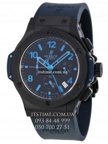 Hublot №165-2 All black blue limited edition купить по низкой цене