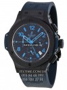 Hublot №165-2 «All black blue limited edition»