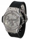 Hublot №154 «All diamonds steel»