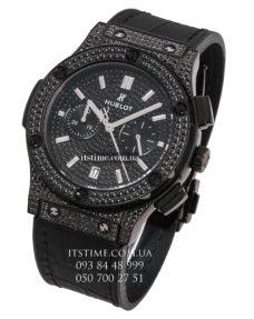 Hublot №154-1 Classic Fusion Full Pave Black Diamond купить по низкой цене