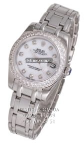 Rolex №18 Datejust Pearlmaster All Steel Diamond Bezel купить по низкой цене
