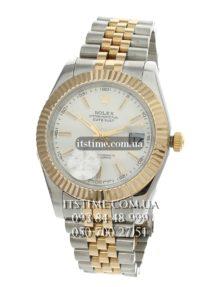 Rolex №84-4 Datejust 41 mm gold steel купить по низкой цене