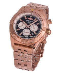 Breitling №95-3 Chronomat 44 Rose Gold black купить по низкой цене