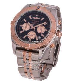 Breitling №95-1 Chronomat 44 Steel & Gold Black купить по низкой цене